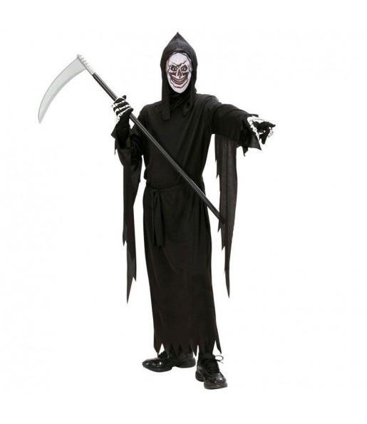 Travestimento Angelo della morte bambini per una festa ad Halloween