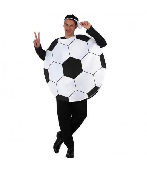 Travestimento Pallone da calcio adulti per una serata in maschera