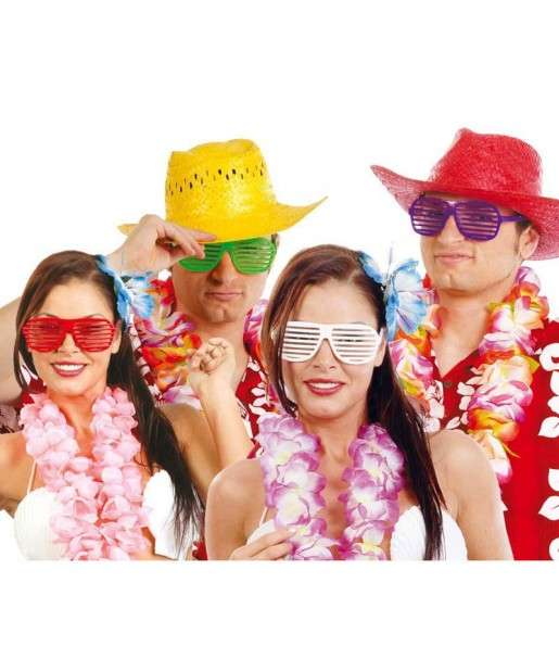 I più divertenti Occhiali Hawaii per feste in maschera