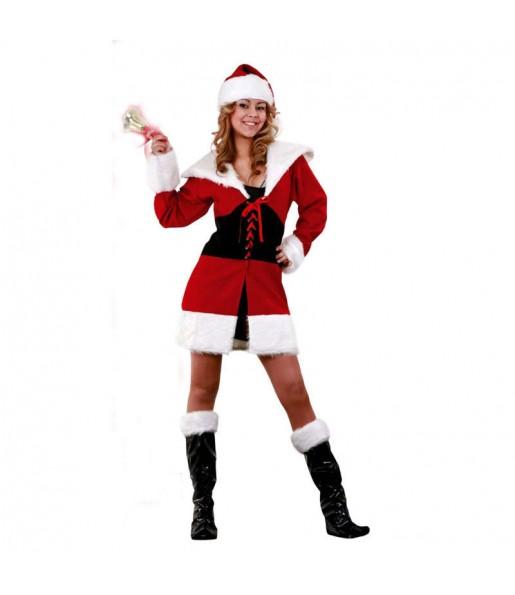 Travestimento Babbo Natale sexy donna per divertirsi in Natale