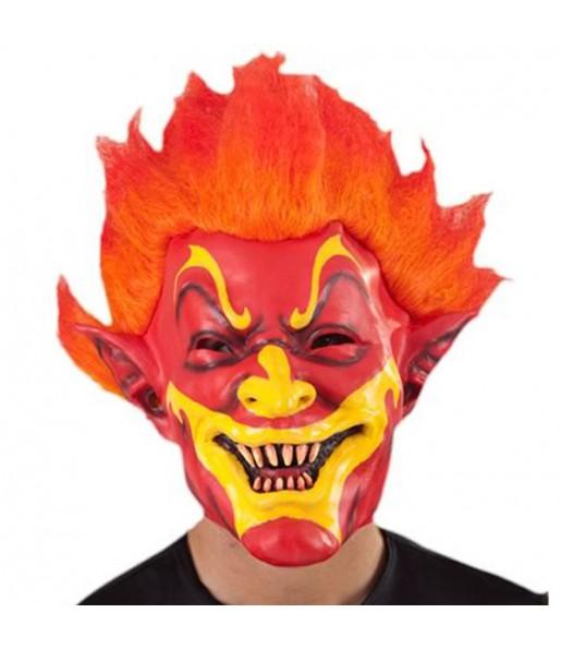 Maschera Demon per poter completare il tuo costume Halloween e Carnevale