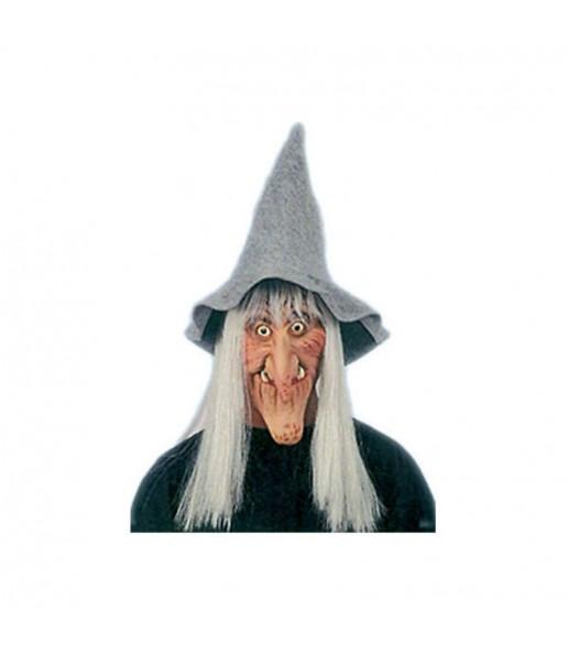 Maschera strega per poter completare il tuo costume Halloween e Carnevale