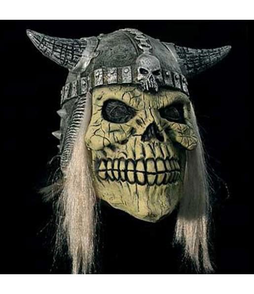 Maschera teschio vichingo per poter completare il tuo costume Halloween e Carnevale