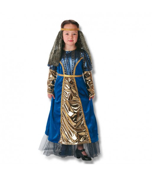 Travestimento Donna medievale bambina che più li piace