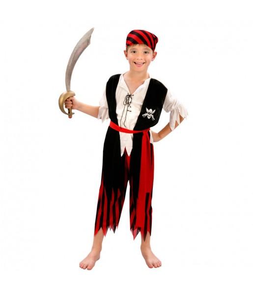 Travestimento Pirata Avventuriero bambino che più li piace
