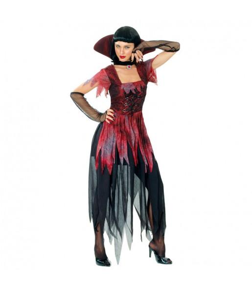 Costume Vampira gotica donna per una serata ad Halloween