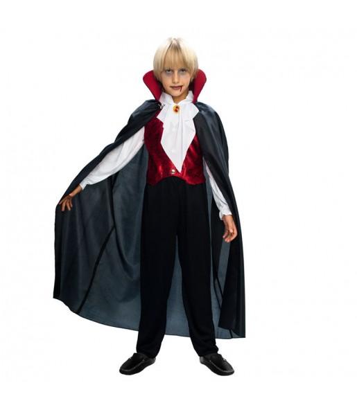 Travestimento Vampiro gotico bambini per una festa ad Halloween