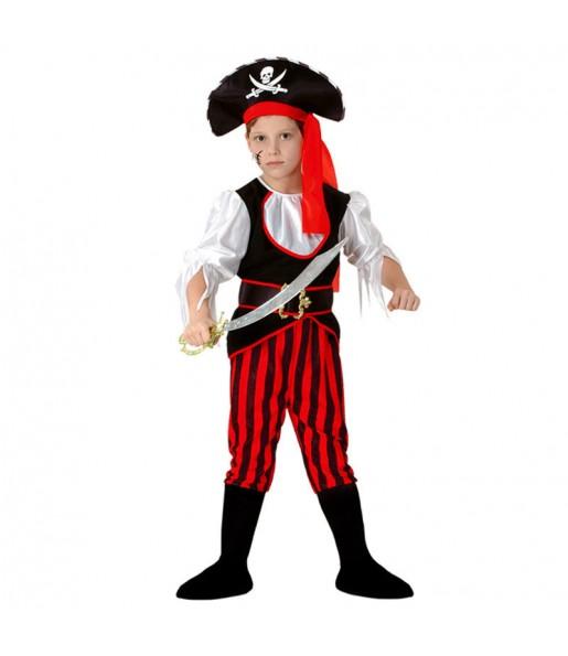 Travestimento Pirata strisce bambino che più li piace