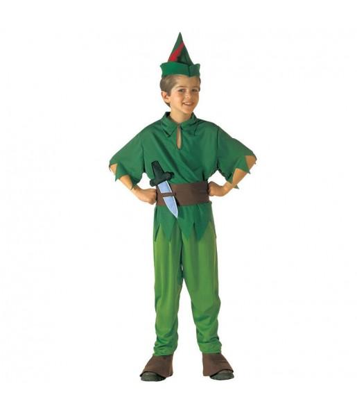 Travestimento Peter Pan bambino che più li piace