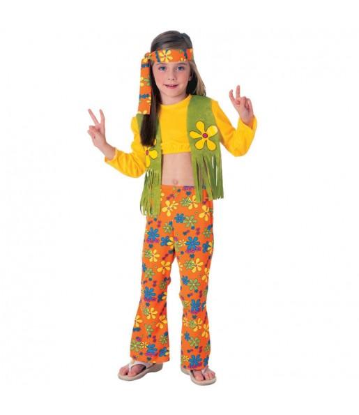 Travestimento Hippie Fiore bambina che più li piace