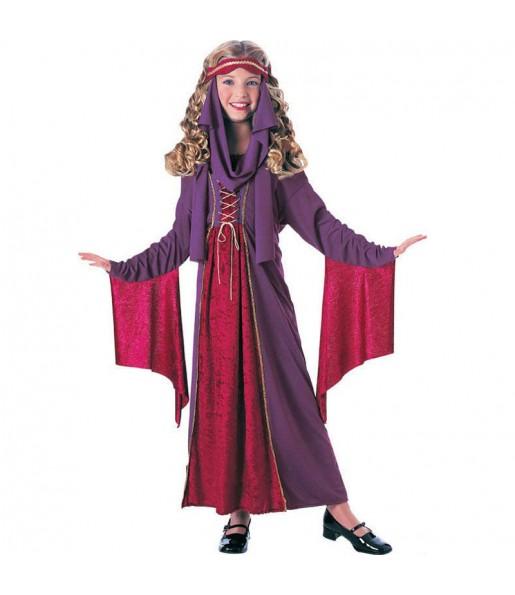 Vestito Principessa gotica bambine per una festa ad Halloween