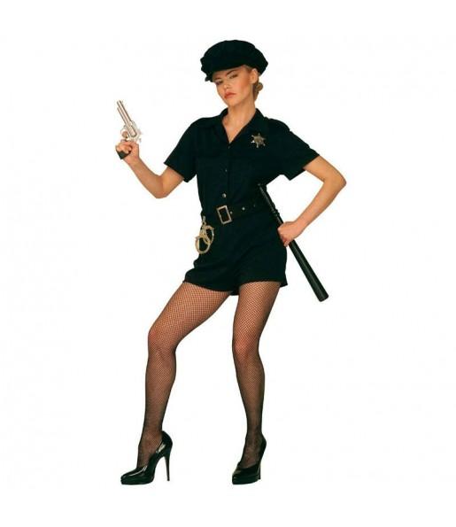 Travestimento Poliziotta Attraente donna per divertirsi e fare festa