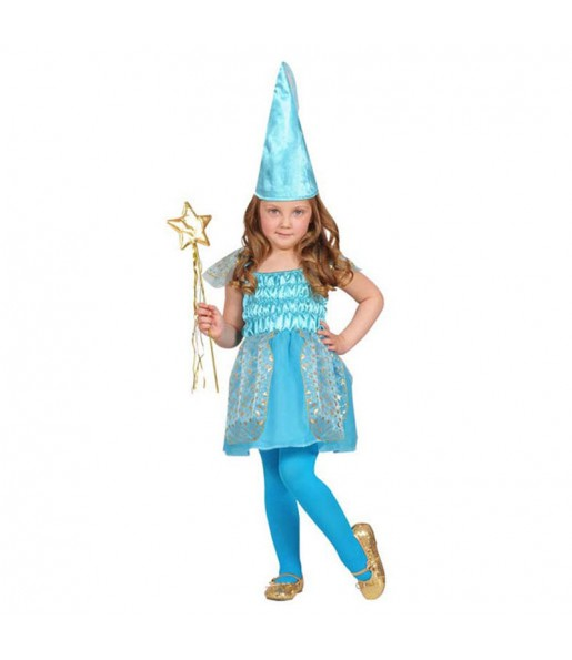 Travestimento Fata Blu bambina che più li piace
