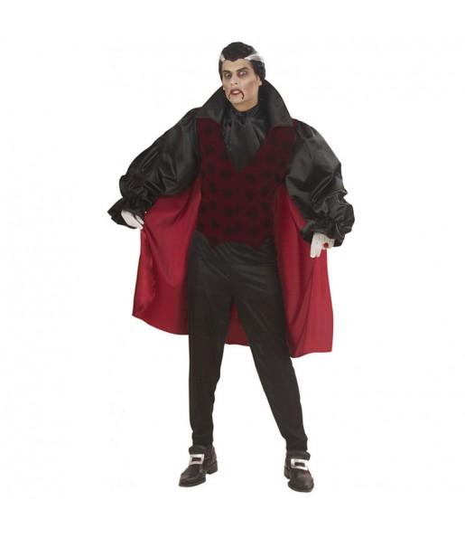 Travestimento Vampiro Gotico Rosso adulti per una serata ad Halloween