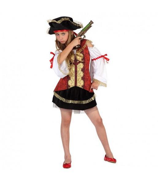 Travestimento Piratessa Deluxe bambina che più li piace