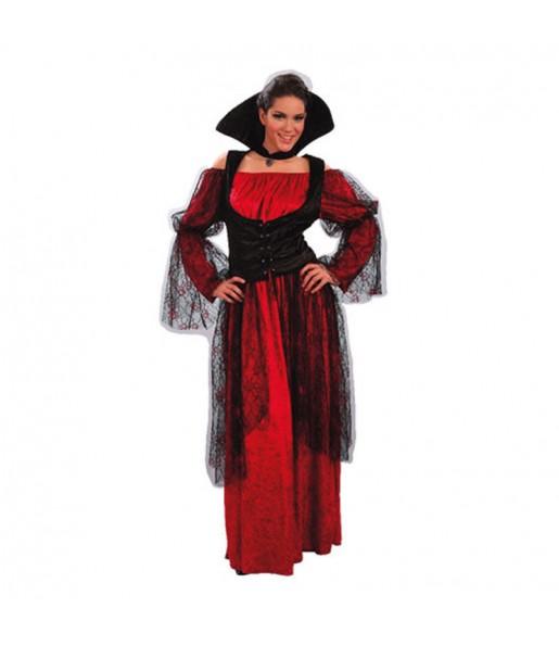 Costume Vampira donna per una serata ad Halloween