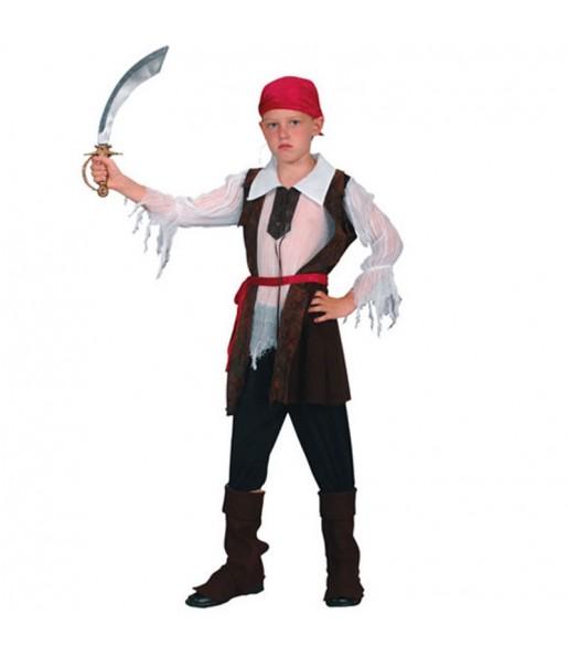 Travestimento Pirata Bucaniere bambino che più li piace
