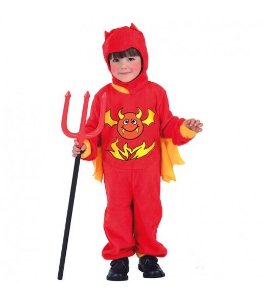 Travestimento Demone bambini per una festa ad Halloween