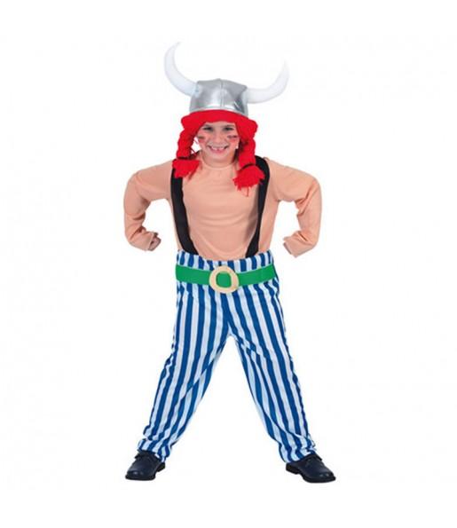 Travestimento Obelix il gallico bambino che più li piace