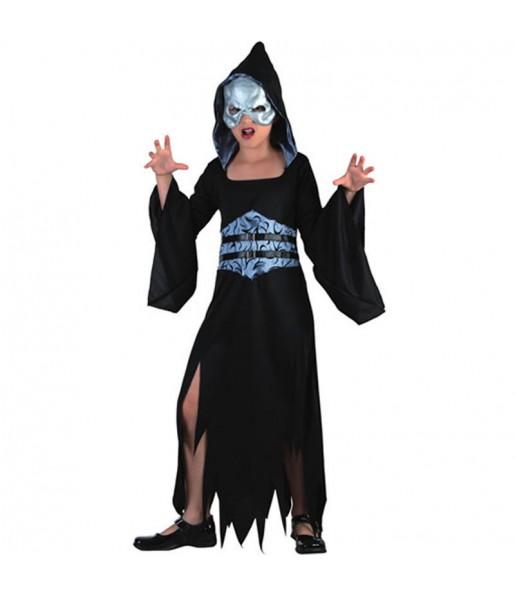 Vestito Morte halloween bambine per una festa ad Halloween
