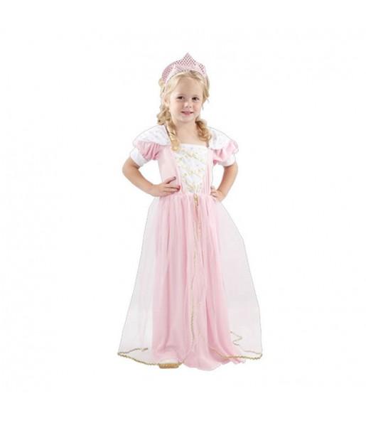 Travestimento Piccola Principessa Rosa bambina che più li piace