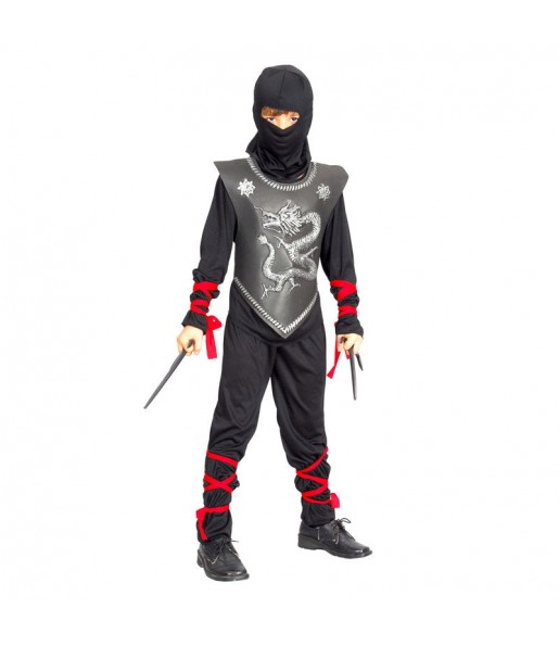 Travestimento Guerriero ninja bambino che più li piace