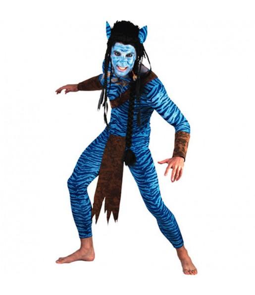 Travestimento Avatar adulti per una serata in maschera