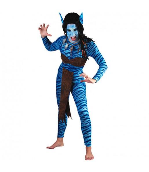 Travestimento Avatar donna per divertirsi e fare festa