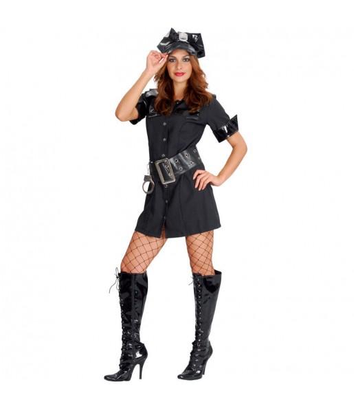 Travestimento Poliziotta bella donna per divertirsi e fare festa