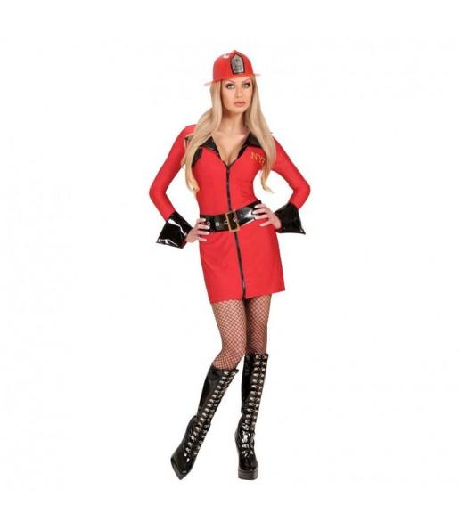 Travestimento Pompiere Sexy donna per divertirsi e fare festa