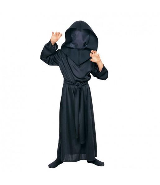 Travestimento Morte senza volto bambini per una festa ad Halloween