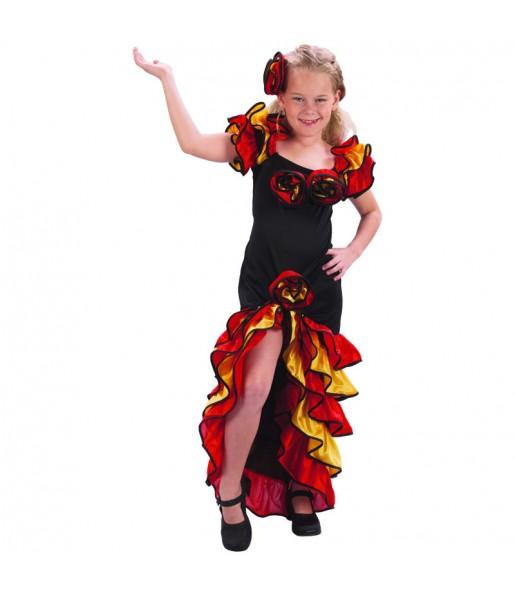 Travestimento Ballerina di rumba bambina che più li piace