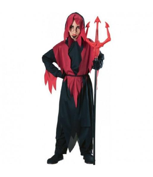 Travestimento Diavolo economico bambini per una festa ad Halloween