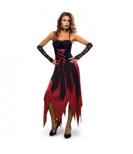 Travestimento Vampira Gotica Sexy donna per divertirsi e fare festa