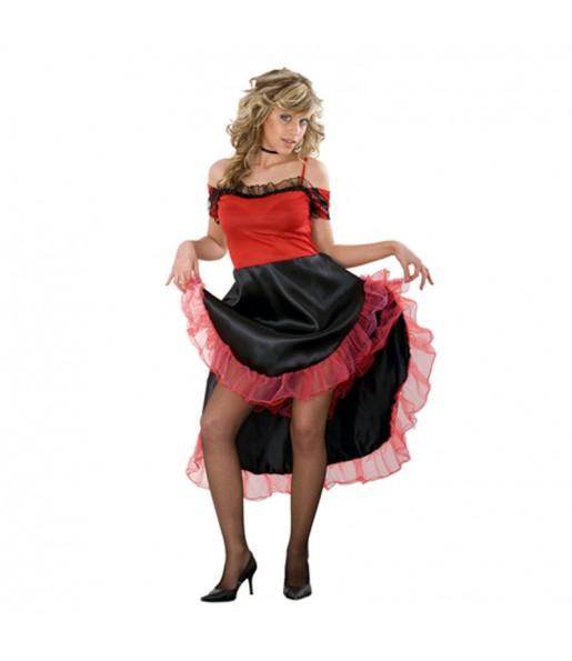 Travestimento Moulin Rouge donna per divertirsi e fare festa
