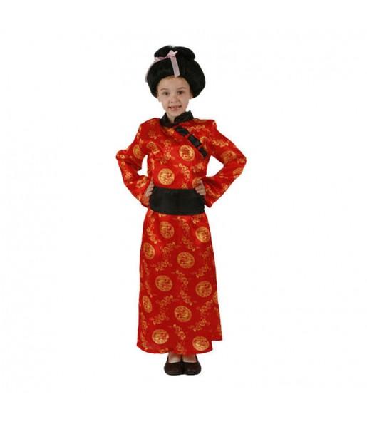 Travestimento Cina Rossa bambina che più li piace