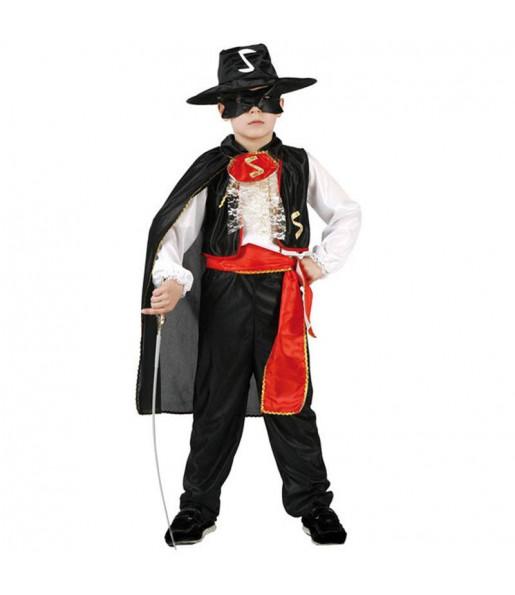 Travestimento Zorro spadaccino bambino che più li piace