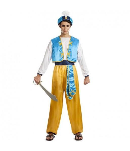 Costume da Principe arabo Aladino per uomo