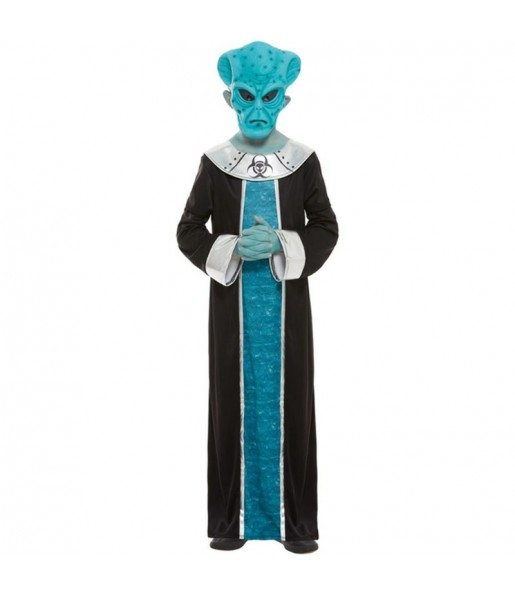Costume da alieno Ashtar per bambino
