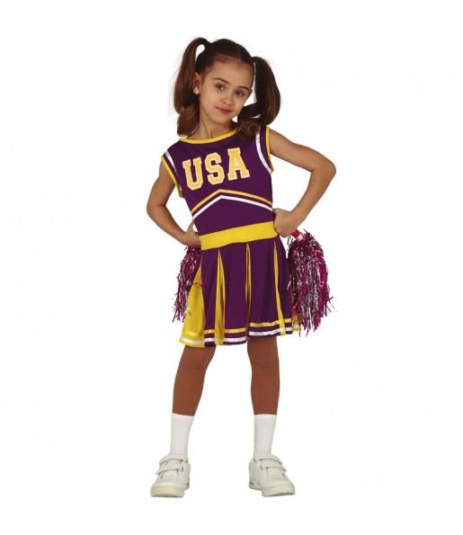 Travestimento Cheerleader USA bambina che più li piace