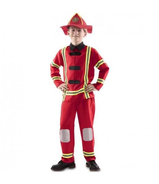 Costume da Pompiere rosso per bambino
