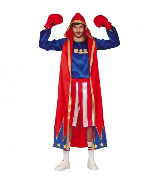 Costume da Pugile americano per uomo