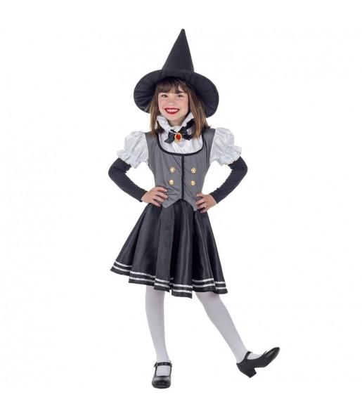 Vestito Strega Mistica bambine per una festa ad Halloween