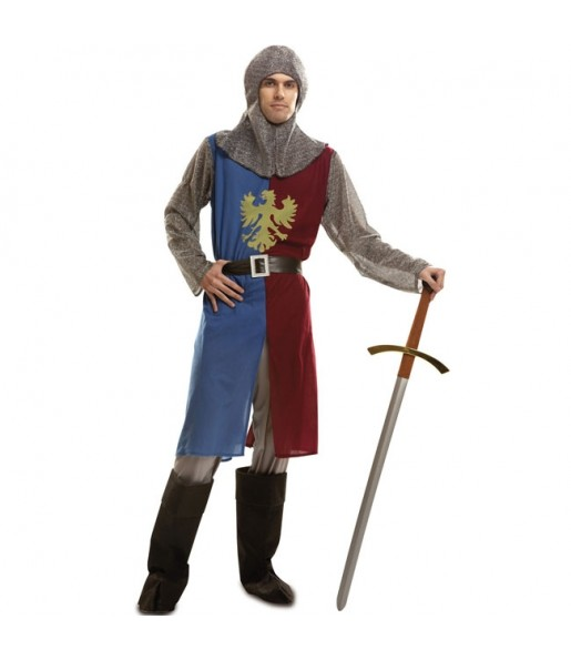 Travestimento Cavaliere medievale adulti per una serata in maschera del Medievo
