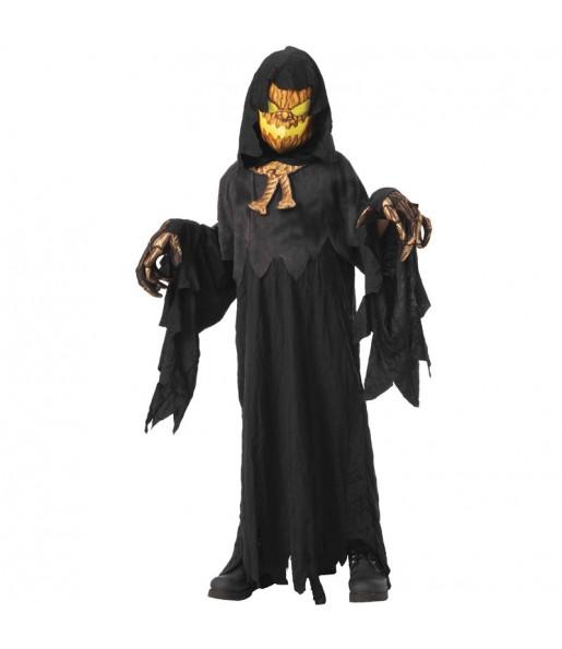 Travestimento Zucca posseduta bambini per una festa ad Halloween