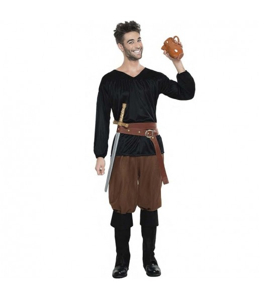 Costume da Contadino medievale per uomo