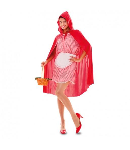 Travestimento Cappuccetto Rosso donna per divertirsi e fare festa