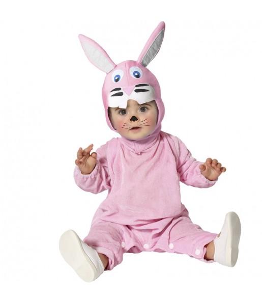 Costume da Coniglio rosa per neonato
