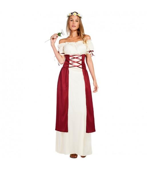Travestimento Principessa Medievale Gadea donna per divertirsi e fare festa