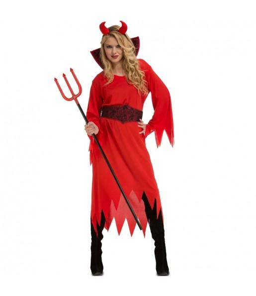 Costume da Diavolessa dell'Inferno per donna